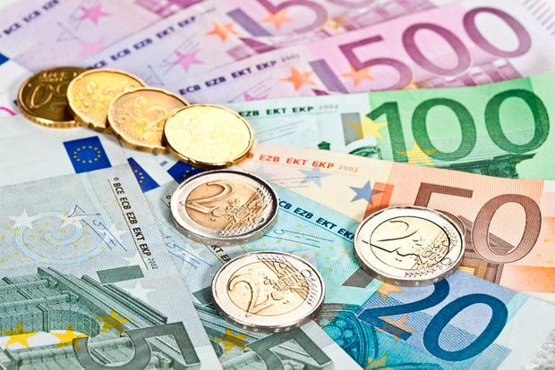 Anniversary: The euro has had a colourful record over 20 years. Stock photo