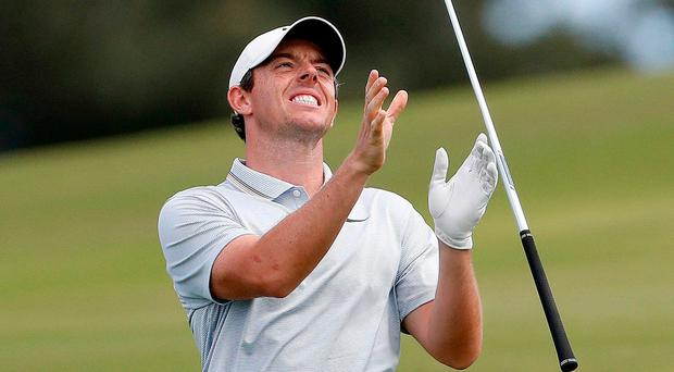 Rory McIlroy falters on final day to finish fourth at the Sentry Tournament of Champions in Hawaii