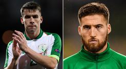 Seamus Coleman and Matt Doherty