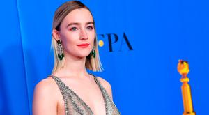 Saoirse Ronan poses in the press room during the 76th Annual Golden Globe Awards at The Beverly Hilton Hotel on January 6, 2019 in Beverly Hills, California. (Photo by Kevin Winter/Getty Images)