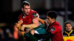 Chris Farrell, left, is fit to face Gloucester