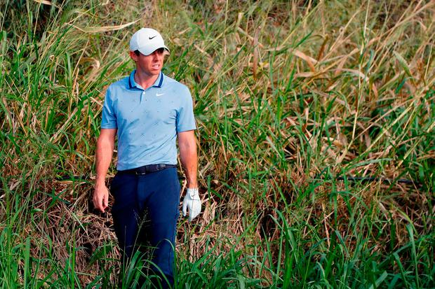 Rough times: Rory McIlroy. Photo: Getty