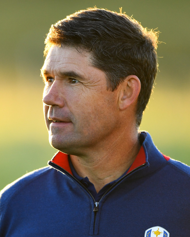 Ryder Cup captain Harrington putting 'legacy' on line