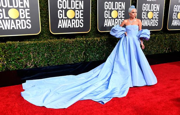 Lady Gaga attends the 76th Annual Golden Globe Awards at The Beverly Hilton Hotel on January 6, 2019 in Beverly Hills, California. (Photo by Frazer Harrison/Getty Images)