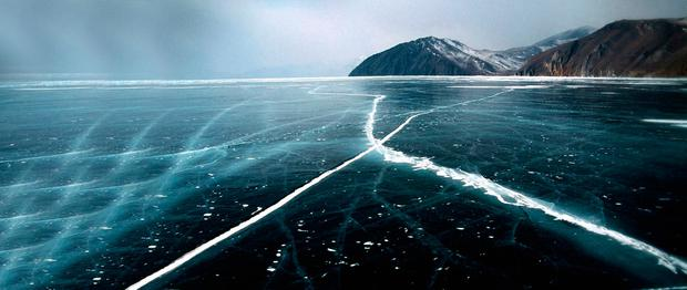 Lake Baikal, the deepest freshwater lake in the world