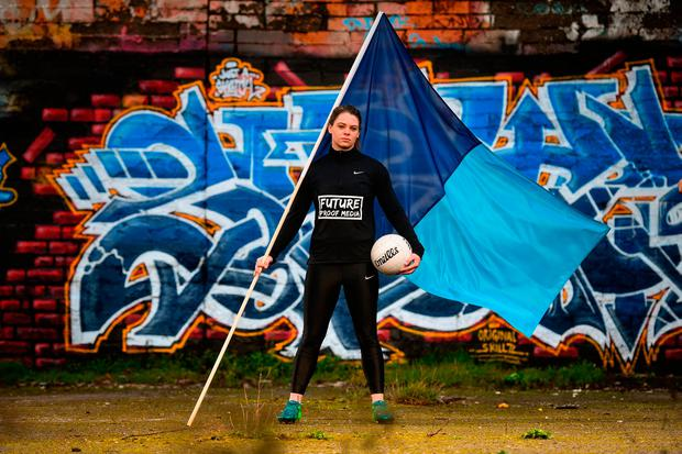 Dublin ladies footballer Noelle Healy at the launch of Future Proof Media