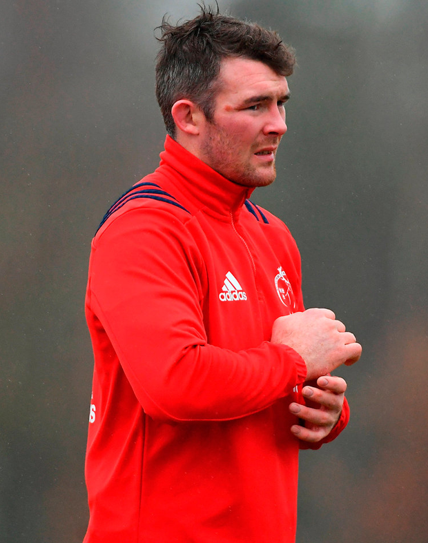 Peter O'Mahony prepares for a return to European action against Gloucester at Kingsholm Stadium on Friday night. Photo: Piaras Ó Mídheach/Sportsfile