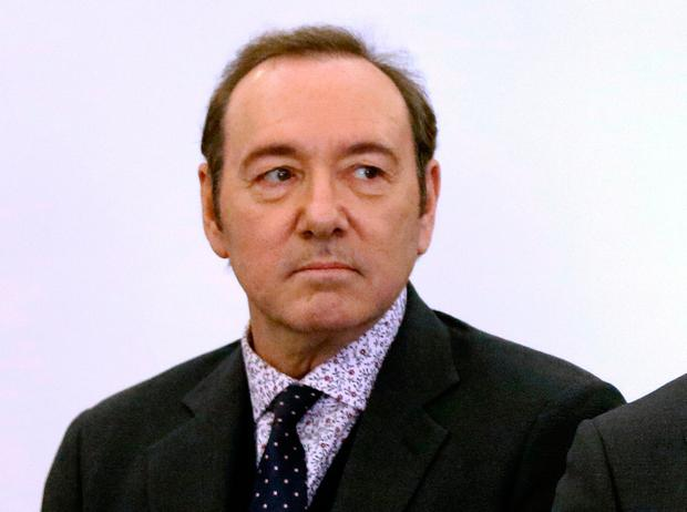 Kevin Spacey has been charged with sexual assault. Photo: AP