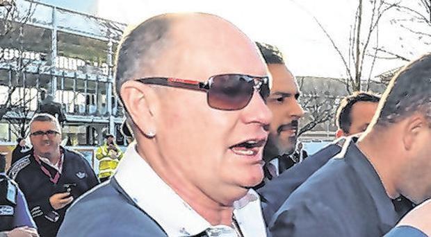 'I'm scared,' Gazza admits as he pleads not guilty to sex assault