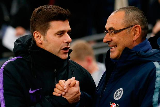 Maurizio Sarri has guided Chelsea the Carabao Cup final in his first season as the club's manager