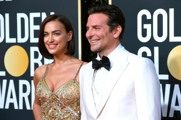 Irina Shayk (L) and Bradley Cooper attend the 76th Annual Golden Globe Awards at The Beverly Hilton Hotel on January 6, 2019 in Beverly Hills, California. (Photo by Frazer Harrison/Getty Images)