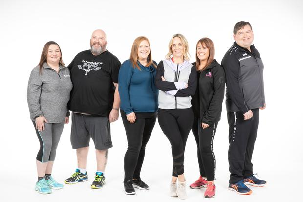Operation Transformation leaders with presenter Kathryn Thomas