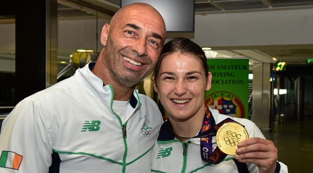 Pete and Katie Taylor