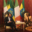 Taoiseach Leo Varadkar with Ethiopian President Sahle-Work. Photo: Laura Larkin.