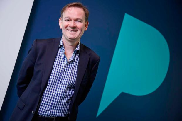 Poppulo CEO Andrew O' Shaughnessy