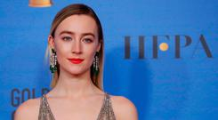 Tipped: Saoirse Ronan plays Mary Queen of Scots. Photo: REUTERS