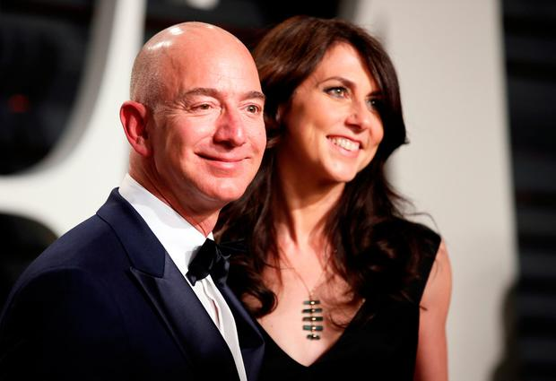 Amazon founder Jeff Bezos and wife MacKenzie have split. Photo: REUTERS