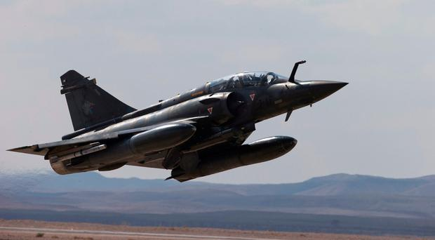 Search for pilots after fighter jet disappears in snowstorm