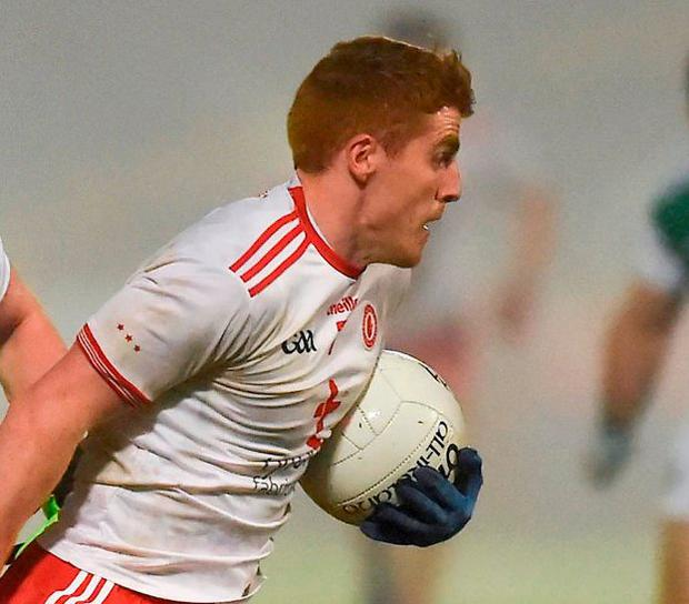 Tyrone's Peter Harte. Photo: Oliver McVeigh/Sportsfile
