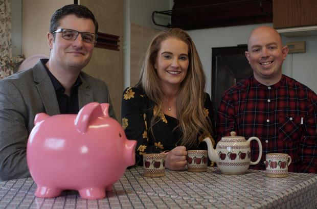 Eoin McGee with Brian and Kerri from Cork, How to be Good with Money, RTE