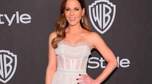 British actress Kate Beckinsale arrives for the Warner Bros. and In Style 20th annual post Golden Globes party at the Oasis Courtyard of the Beverly Hilton hotel in Beverly Hills on January 6, 2019. (Photo by Jean-Baptiste LACROIX / AFP)