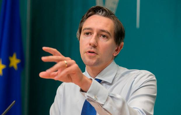 Resistance: Health Minister Simon Harris is facing anger from obstetricians over the January 1 abortion service deadline that was imposed. Photo: Gareth Chaney, Collins