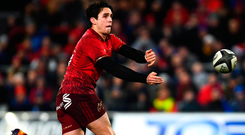 Munster's Joey Carbery. Photo: Sportsfile
