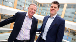 Andrew Baird, Managing Director, Logicalis Ireland, and Paul Kavanagh, Country Manager, Cisco Ireland