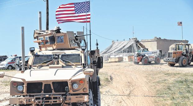 US troops start Syria pull-out