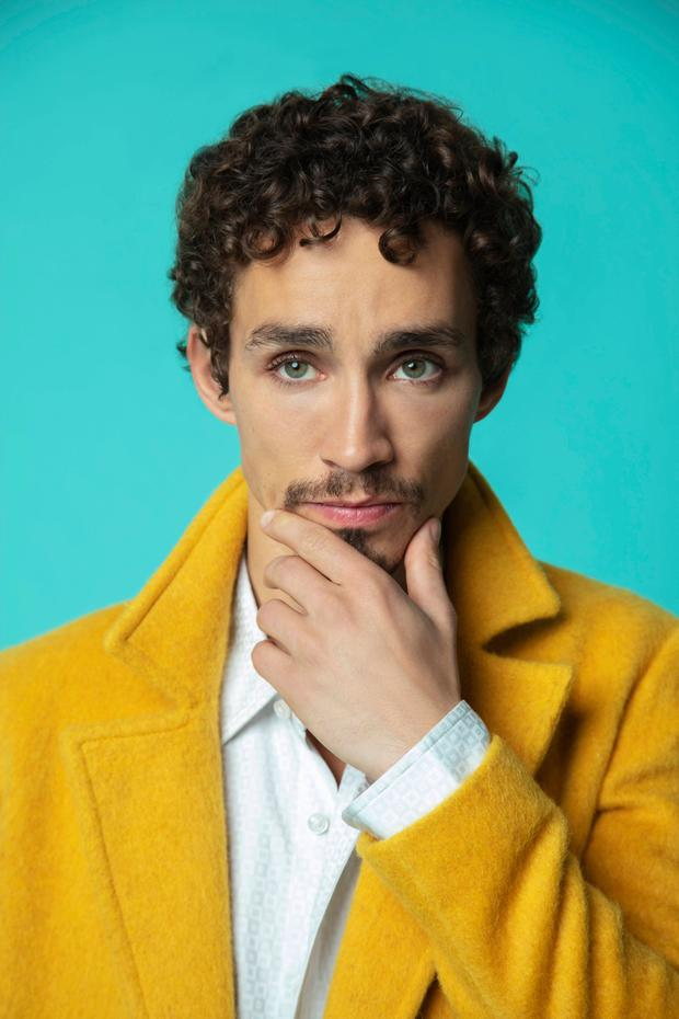 Robert Sheehan for Weekend magazine. Picture: Erin Patrice O'Brien / Netflix