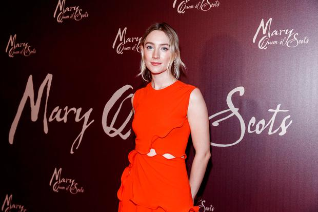 Saoirse Ronan pictured at the Universal Pictures special screening of Mary, Queen of Scots at The Stella Theatre. Picture: Andres Poveda