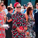 Zara Tindall watches the races during the 2019 Magic Millions on January 12, 2019 in Gold Coast, Australia. (Photo by Chris Hyde/Getty Images)