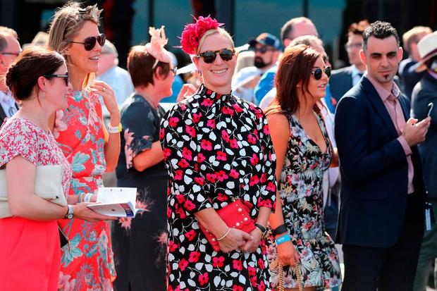 8cc625154a Zara Tindall makes a case for best dressed royal in floral mini ...