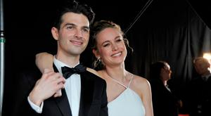Musician Alex Greenwald (L) and actor Brie Larson attend The 23rd Annual Screen Actors Guild Awards at The Shrine Auditorium on January 29, 2017 in Los Angeles, California. (Photo by John Sciulli/Getty Images for TNT)