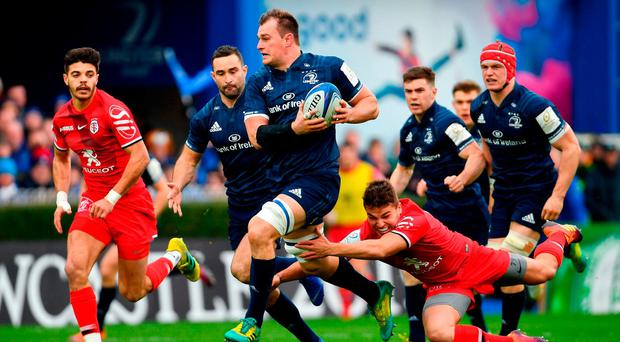 Leinster 29 Toulouse 12 as it happened: Champions heading to the knockout stages after bonus-point win
