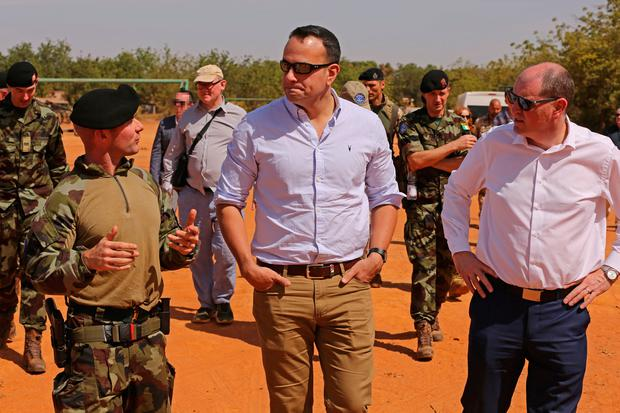 Taoiseach Leo Varadkar is in Africa for a week-long tour to observe the work of the Irish Defence Forces in in Mali and that of IrishAid in Ethiopia