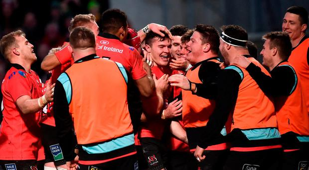 Jacob Stockdale continues incredible scoring exploits as Ulster stun Racing 92 in thriller