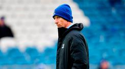 Leinster head coach Leo Cullen ahead of the Heineken Champions Cup Pool 1 Round 5 match between Leinster and Toulouse at the RDS Arena in Dublin. Photo by Ramsey Cardy/Sportsfile