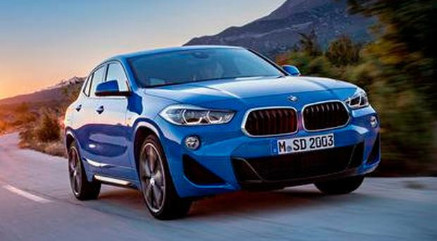 X-RATED: The all-new BMW X2 has the drive position of a saloon but the look of a SUV