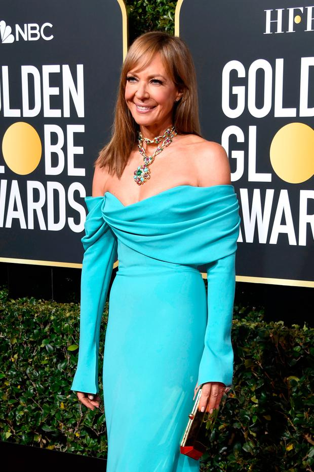 Allison Janney attends the 76th Annual Golden Globe Awards at The Beverly Hilton Hotel on January 6, 2019 in Beverly Hills, California. (Photo by Frazer Harrison/Getty Images)