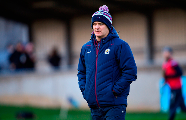 Micheál Donoghue: 'We have 30-plus lads training, they're really hungry, and we'll look forward to next week'. Photo by Ramsey Cardy/Sportsfile