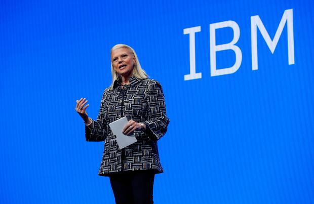 IBM ceo Ginni Rometty. Photo: REUTERS/Steve Marcus