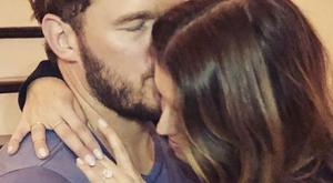 Chris Pratt announced his engagement to Katherine Schwarzenegger on Instagram.