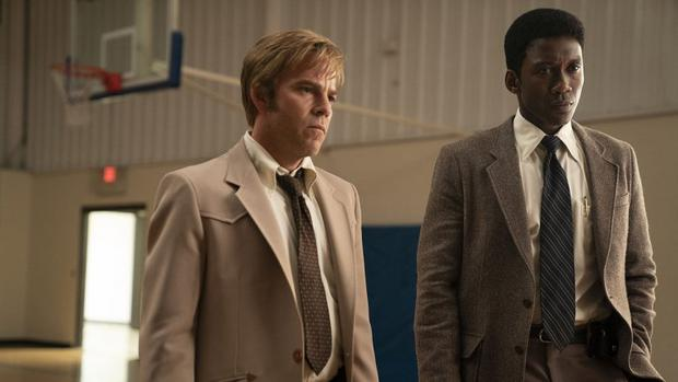 Stephen Dorff and Mahershala Ali in True Detective season 3. PIC: HBO
