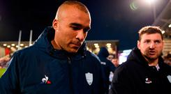 Simon Zebo: Tweeted about incident after Saturday's match. Photo: David Fitzgerald/Sportsfile