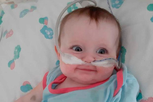 Operation: Little Juniper is due to have a bone marrow transplant, which will help her fight off infection
