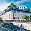 An artist's impression of the new children's hospital. Photo: PA