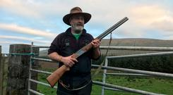 North Sligo farmer Andy 'the Bull' McSharry has threatened to shoot dogs accompanying hillwalkers on his land. Photo: Niall Delaney