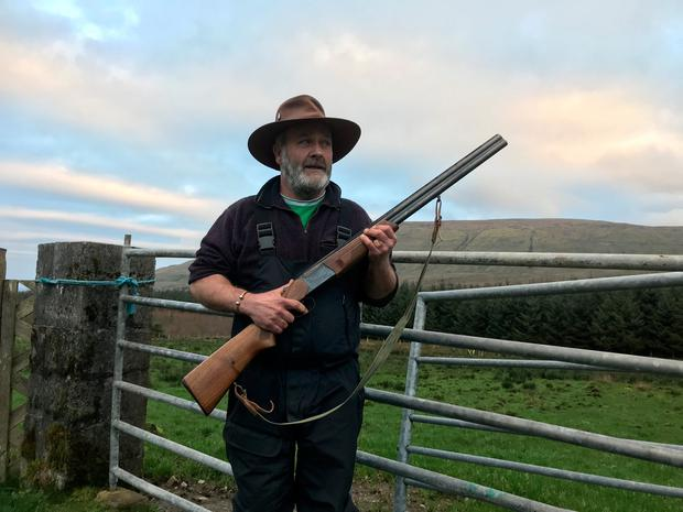 ee95056bac5bc North Sligo farmer Andy  the Bull  McSharry has threatened to shoot dogs  accompanying hillwalkers