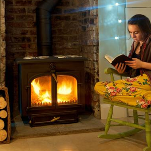 Old stoves can be detrimental to your health — invest in an eco stove to reduce emissions by up to 80pc. Photo: Getty Images/Cultura RF